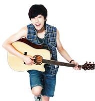 PNG : B1A4 JINYOUNG by chiffee