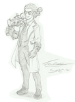 The 'Good' Doctor (Sketch) by ACommonMisconception