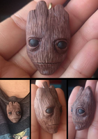 Groot - Guardians of the Galaxy by ManicMinion