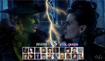 Evil Queen vs Zelena by VincentSharpe