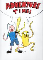 I Told You It's Adventure Time by johnnyism