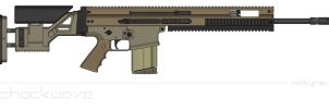 FN Mk.20 Mod.0 Sniper Support Rifle by Shockwave9001