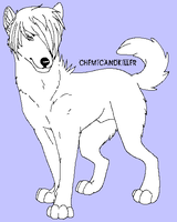 .: Free Male Canine Lineart :. by MadhouseHatter