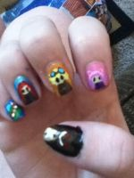 League of Legends Nail Art 2 by sakura517