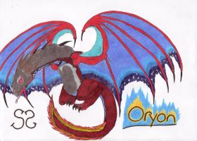 Oryon the Battle Wyvern by Zs99