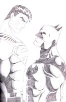 Batman And Superman by Ari-Spike-Nadelman