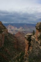 Clouds over Grand Canyon by Dr-J-Zoidberg