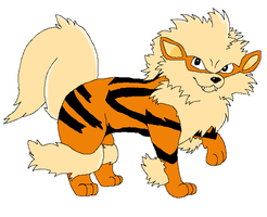 Arcanine for Shadowmander by Sugarfoxxy
