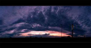Stormy Sunset by NorbertKocsis