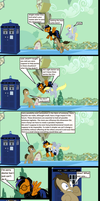 The Tardis chronicles page 14 by darkoak213