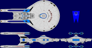 USS Constellation Multi-View by captshade