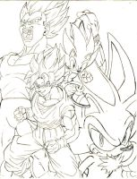 dbz x sonic THE SUPERS pl by trunks24