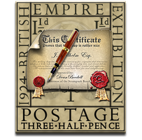 Eric Gill Stamp SSL Certificate Icon by yereverluvinuncleber