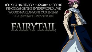 Fairytail Natsu, Quote by Cr33pyN3ighb0r
