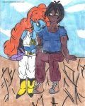 Valentine Shipping - MikeXZangya: Cliff view by Halowing
