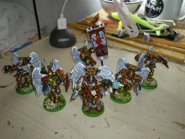 Dante and his guard, Blood Angels. by Danhte