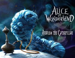 AIW: Absolem the Caterpillar by Kyukitsune