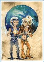 Drawing down stars: ElfQuest by Linnpuzzle