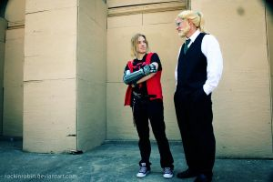 A-Kon 23 :: Ed and Hohenheim by rockinrobin