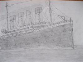 The Titanic by MihaiDorian
