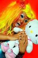 GANGURO GIRL by rabidgirlscout