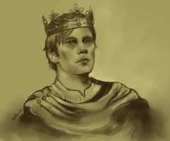 Golden Age Narnia High King by hever