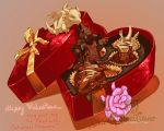 Chocolate assortment whelps by The-SixthLeafClover