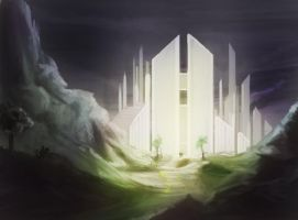 Holy City Concept by kovah