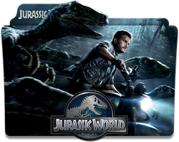 Jurassic World Folder Icon by jesusofsuburbiaTR