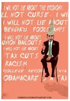 Obama the Dunce by Conservatoons