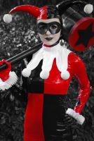 Here comes Harley Quinn by crisinlake