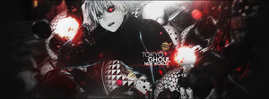 Cover Tokyo Ghoul - New World v2 by RogerGraphics