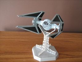 Tie Interceptor by Defibulator