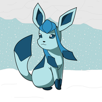 Glaceon by ObstinateAnarchist