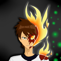 Ben10: Heat Blast by darthfilart