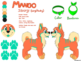 Mango Ref Sheet (Feral) - Sept. 2013 by Mangoswirls