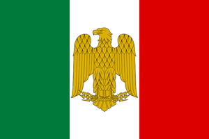 Flag Italy War alternate history by YamaLama1986