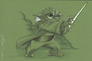 Master Yoda by Hodges-Art