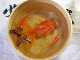 3d art acrylic and resin by goldfishinspiration