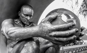 The World in His Hands by deepgrounduk