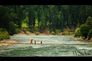 Crossing Neelum by ZaGHaMi