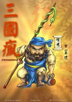 3 kingdoms Q - Zhang Fei by godfathersky