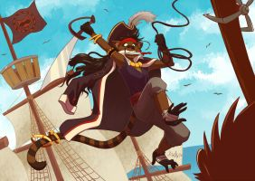 Pirate Monkoon by gaby14link