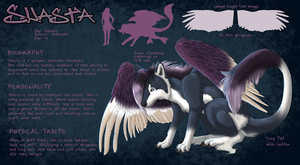 Shasta Character Sheet by sugarpoultry