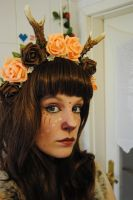 Faun Girl 03 by KittyTheCat-Stock