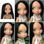 Disney Animators Collection Pocahontas repaint by kamarza
