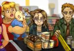 grocery shopping by Luthie13