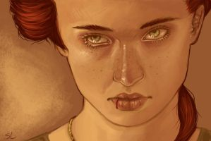 Sansa Stark by saucymermaid