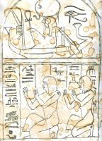 Egyptian Tablet by FalseHope04