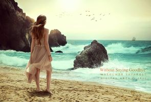 Without Saying Goodbye by DigitalDreams-Art